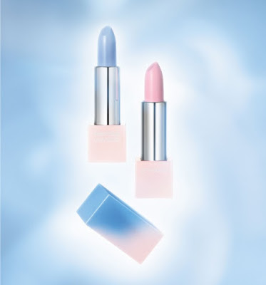 Color of the Year Layer Lipstick in Rose Quartz and Color of the Year Matte Lipstick in Serenity