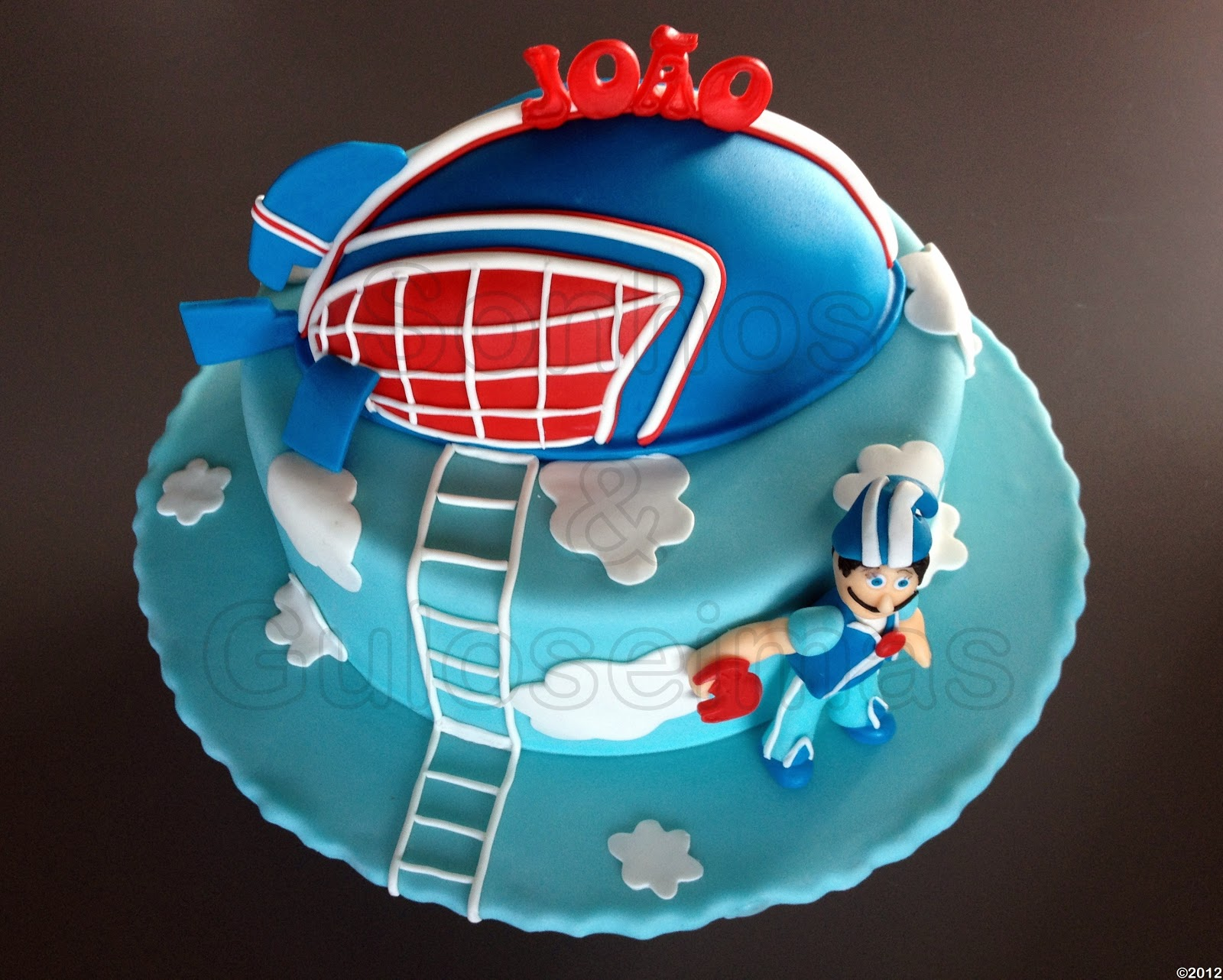 Pin Sportacus Airship From Lazytown Cake Decoration ...