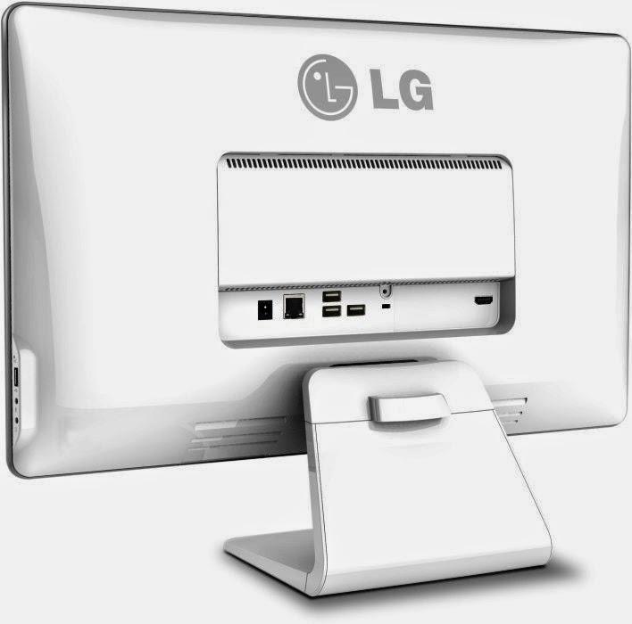 задняя сторона моноблока LG Chromebase