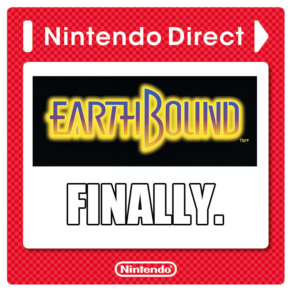 Earthbound Now Available For Wii U And Details From Today S Nintendo Direct Mini Biogamer Girl