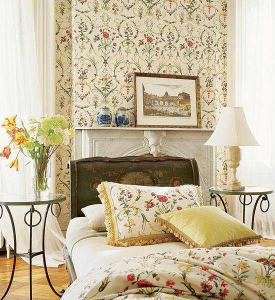 Arquitectura decoracion y mas el papel tapiz for Wallpaper bedroom design ideas