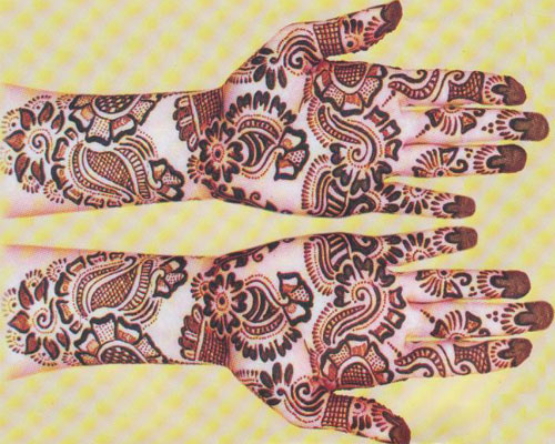 Falguni Rajpara Bridal Mehndi Designs : Mehndi design bridal arabic beauty and