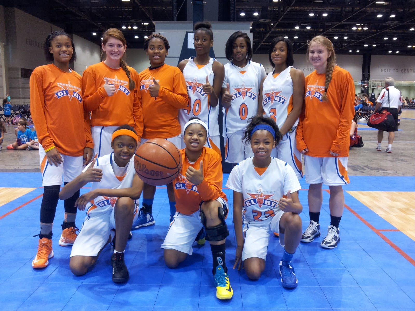Tennessee Basketball Team Team Tennessee Glory 14u/9th