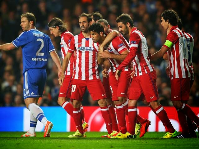 اتلتيكو مدريد يضرب موعدا مع الريال في نهائي لشبونة للأبطال !