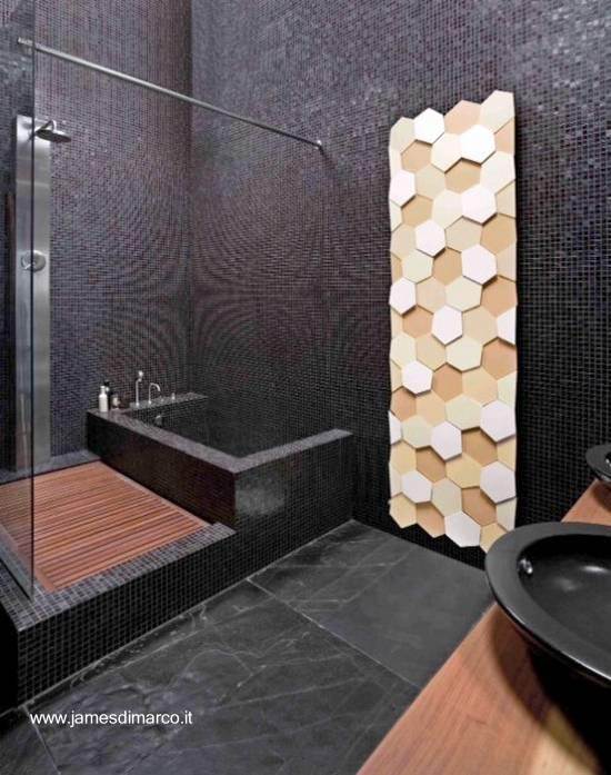 Baños Residenciales Modernos:Arquitectura de Casas: Fotos de baños de diseño moderno original
