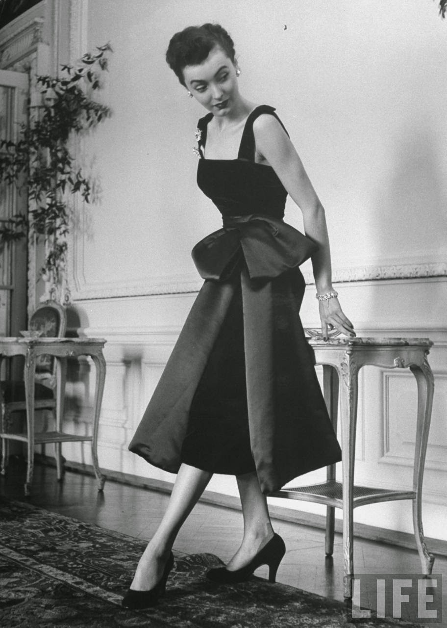 Fashion Extremes of 1949 ~ vintage everyday