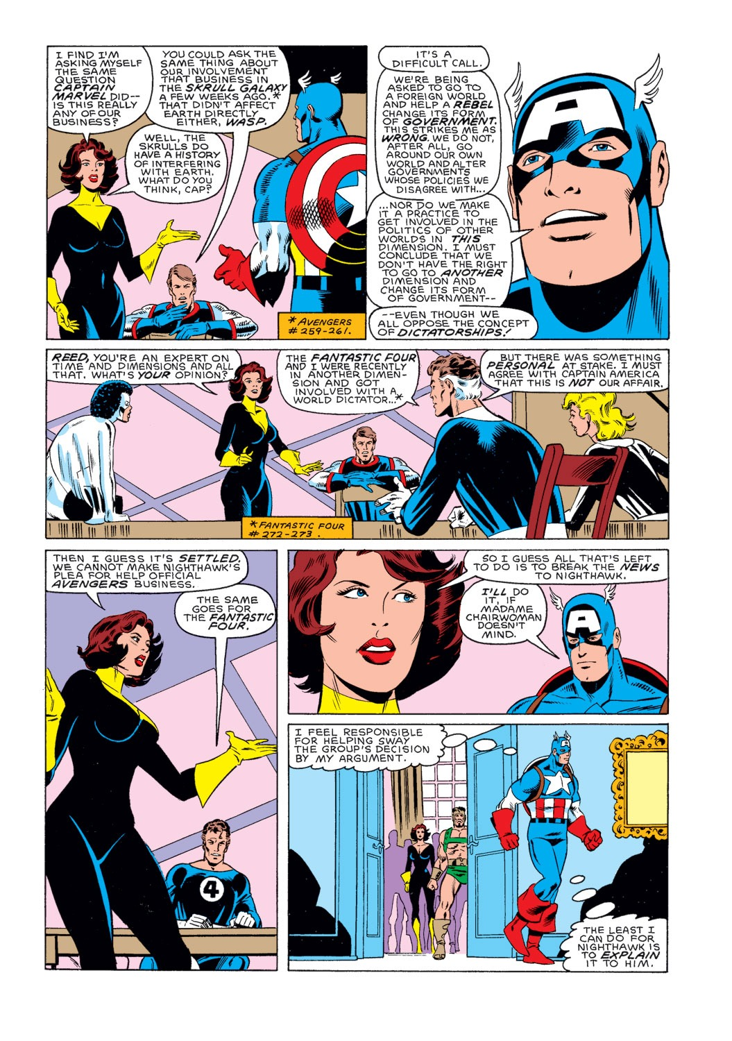 Captain America (1968) Issue #314 #242 - English 9