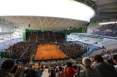 Copa Davis 2011 estadio Olimpico de la Cartuja de Sevilla