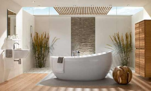 Dormitorio fresco relaxation is the epitome of a modern bathroom - Extraordinary and relaxing contemporary bathroom designs ...