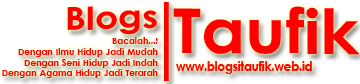 Blog Si Taufik