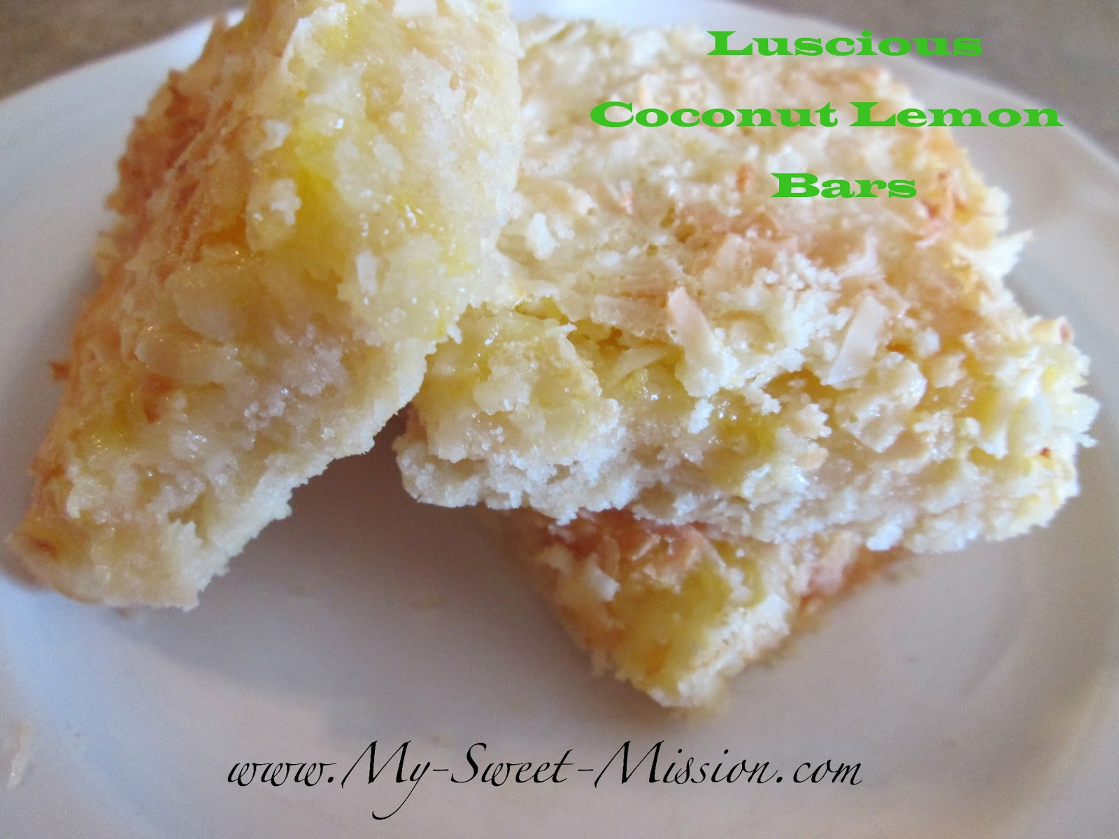think you ll love these luscious lemon coconut bars