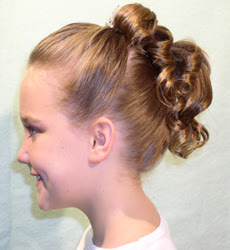 Holy Communion Hairstyles -  2012