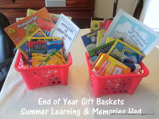 Summer Graduation Gift Baskets for Kids
