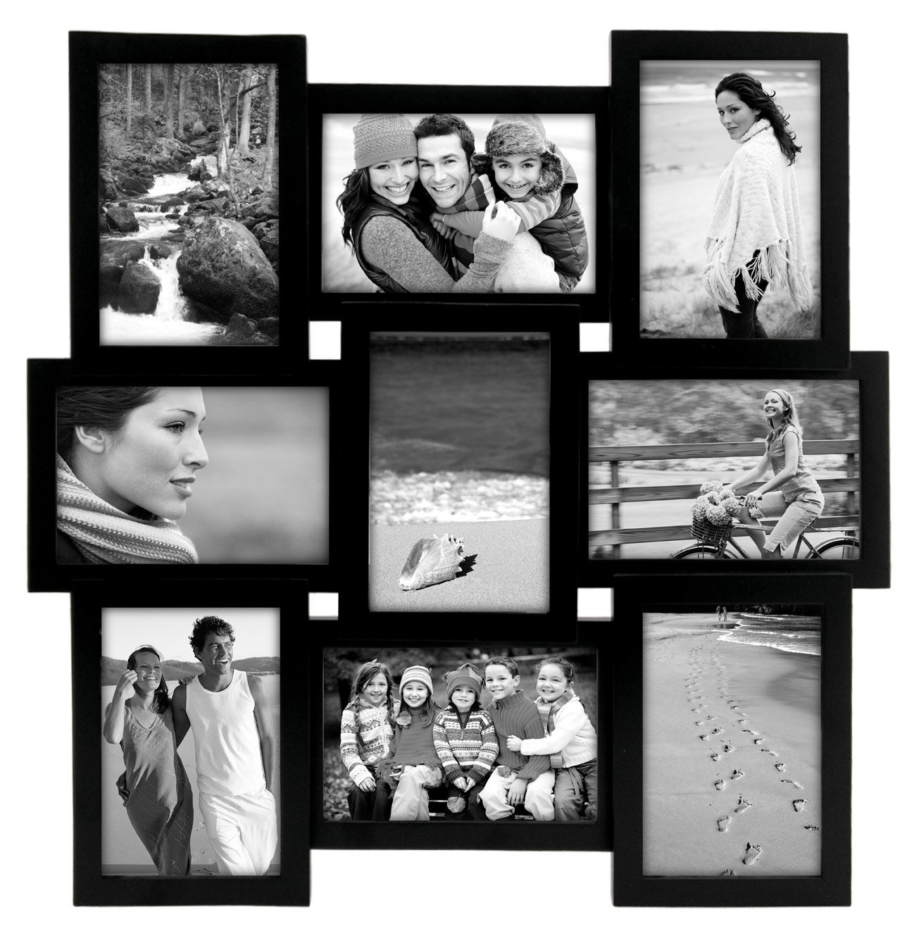 Collage Picture Frame Malden Home Profiles Puzzle | 5x7 Collage frames