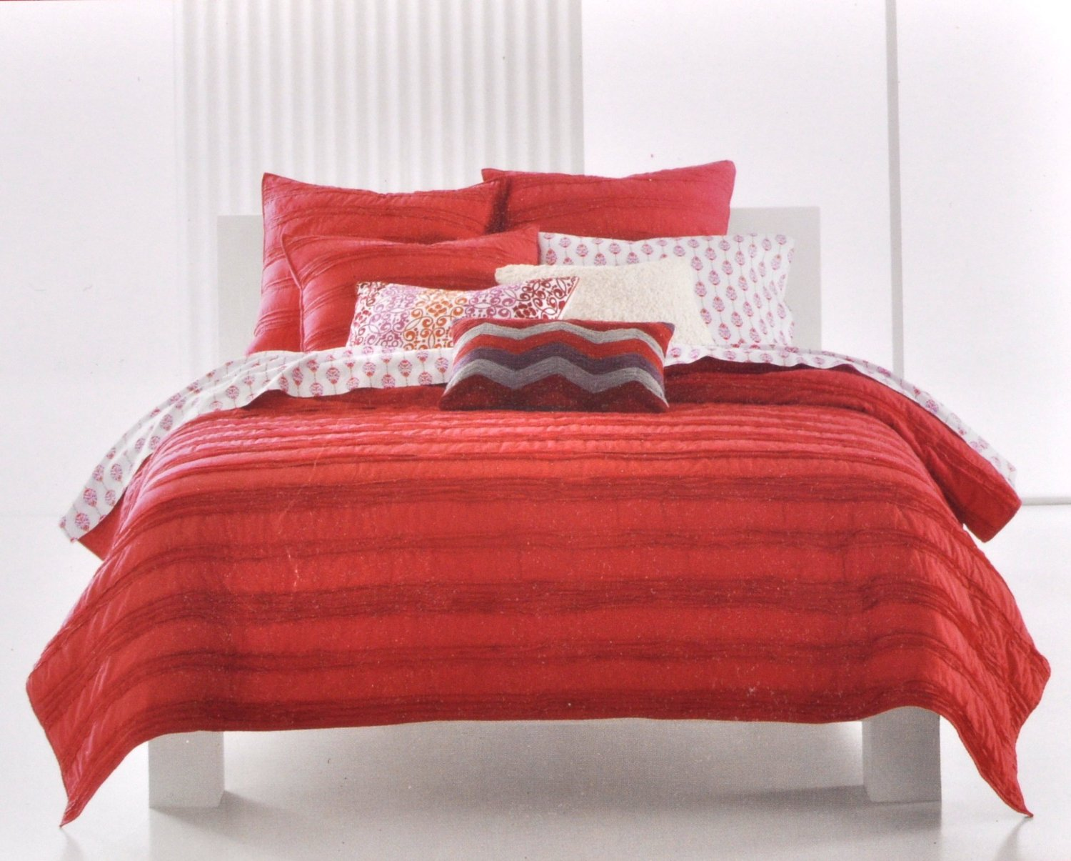 Total Fab Coral Colored Comforter And Bedding Sets