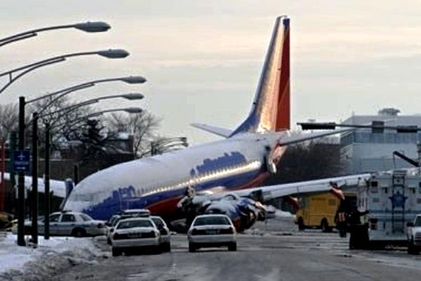 Kecelakaan Pesawat Terbang Penumpang