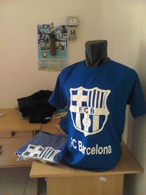 Kaos Casual Barcelona - BARCA - Penyu Clothing Semarang