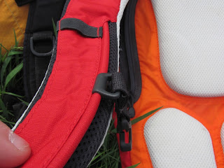 Slide Chest Strap in Hydration Pack
