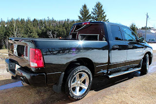 It is a pretty truck, especially when it's gleaming in the sunlight!