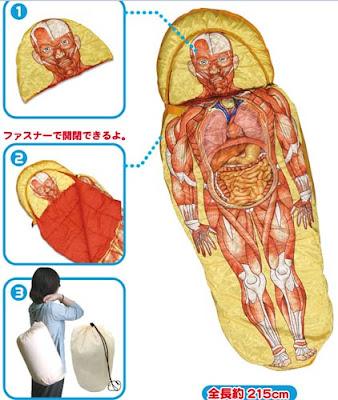 人體模型睡袋