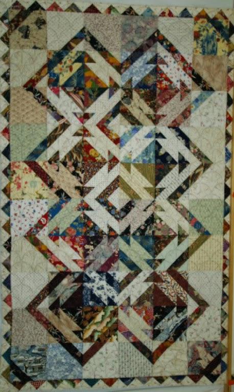 Cheryl Vastola's Japanese Scrappy Quilt