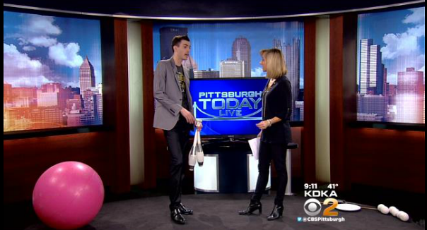 http://pittsburgh.cbslocal.com/video/11303101-chris-ruggiero-takes-juggling-act-on-the-road/