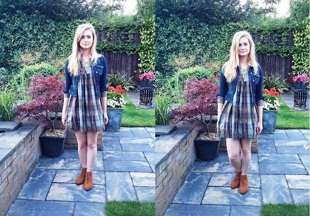 Topshop smock dress