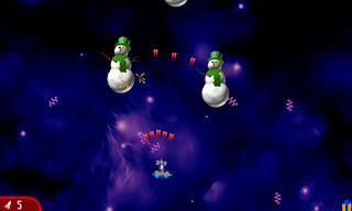 Chicken Invaders 2 Xmas v1.01ggl APK: game bắn gà không gian phiên bản giáng sinh (hack)