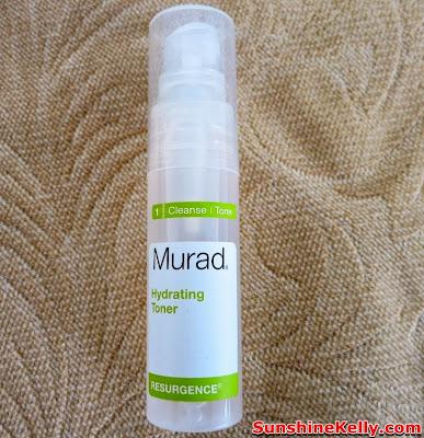 ModBox, modbox october, Natural & Herbal products, Beauty Box Review, Murad Resurgence Hydrating Toner