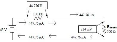 Rangkaian tanpa regulator dioda zener