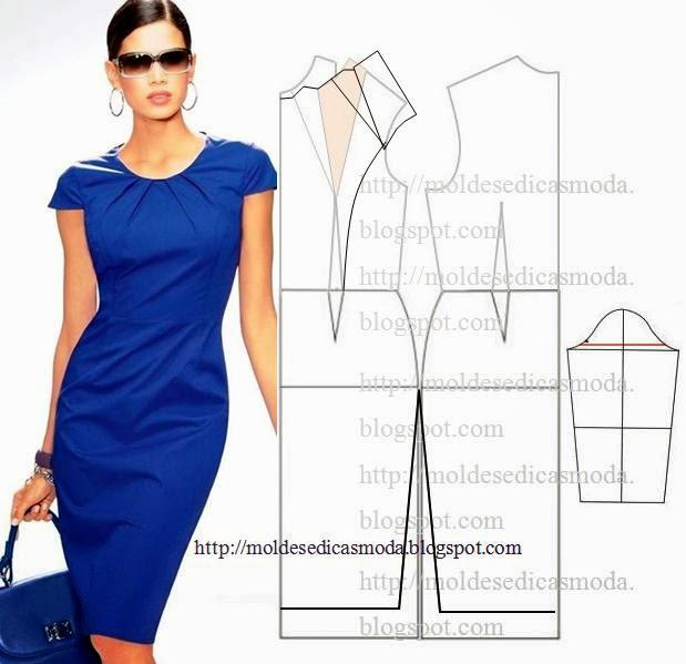 Выкройки платьев блог