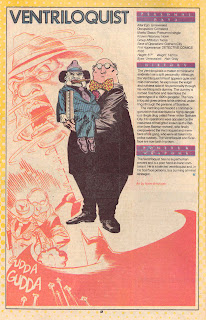 Ventriloquist DC Comic