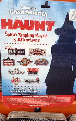 Spend your Halloween in Great America's Halloween Haunt