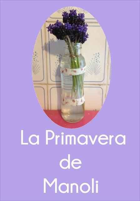 florero de cristal con washi tape de colores
