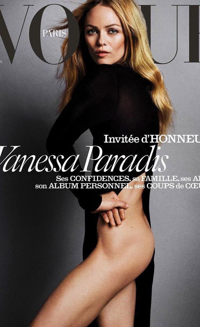 Vanessa Paradis en Vogue Magazine