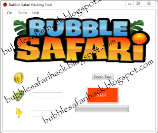 Bubble Safari Credits Coins Energy Generator