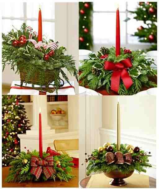 El minihogar - Hacer centros de navidad ...
