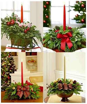 crear un centro de mesa navideo es un trabajo fcil de realizar porque tienes muchos tipos de ornamentos y detalles para combinar con flores hierbas with
