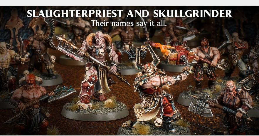 Slaughterpriest Warhammer Age of Sigmar Khorne Bloodbound Slaughter Priest