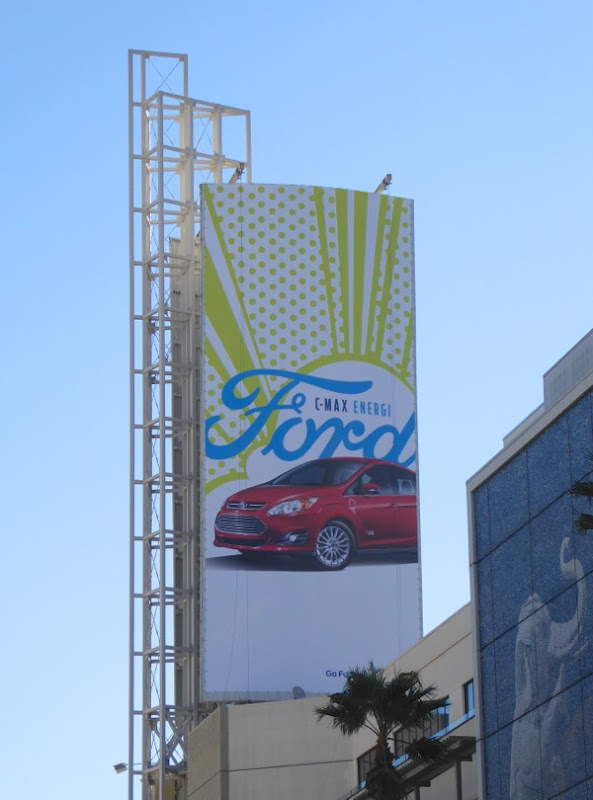 Ford C-Max Energi billboard