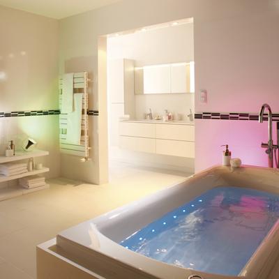 la salle de bain lignes d co. Black Bedroom Furniture Sets. Home Design Ideas