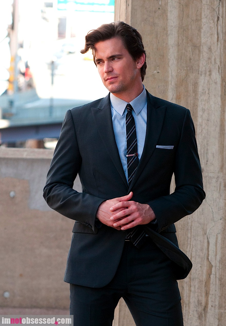 One Stylish Man: White Collar Suits