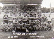 1º.Jogo como profissional Segundona 1987