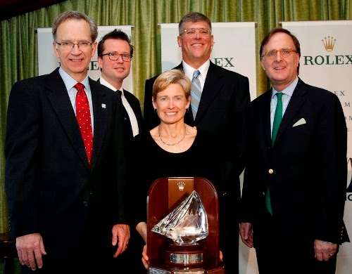 Brian Porter and Jody Starck are US Sailing Rolex Yachtsman and Yachtswoman of the Year