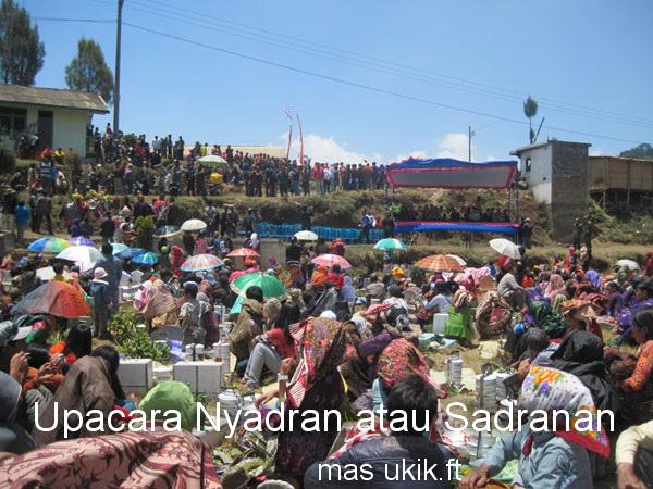 Nyadran, Penutupan Upacara Karo Suku Tengger