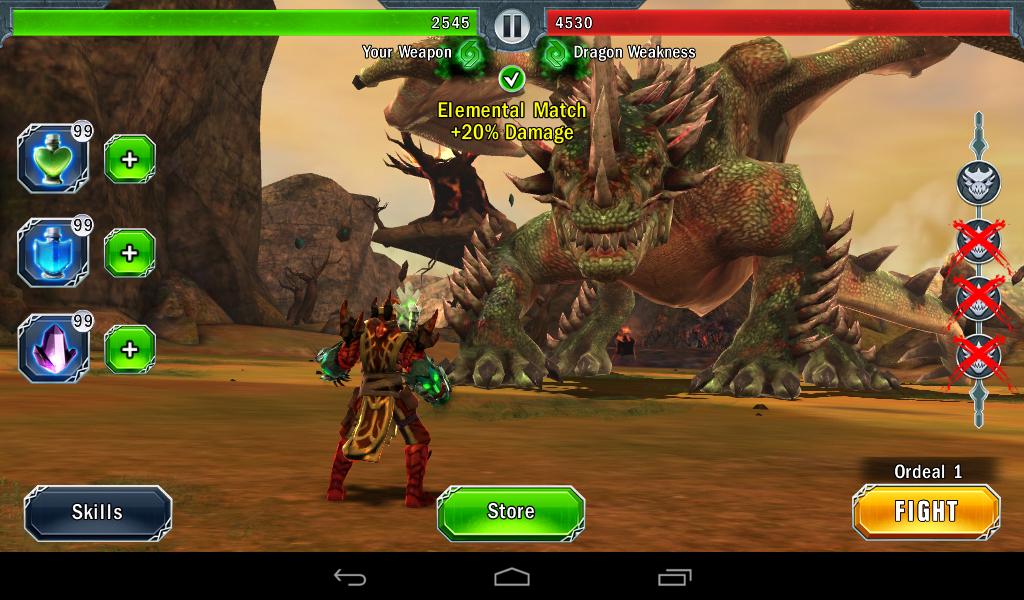Game Dragon Slayer 1.1.2 Apk Updater 2015 Untuk Hp Android