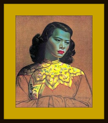 A3 Didymus Co J H Lynch Set mit 4 Kunstdrucken Tina Nymph Woodland Goddess Tretchikoff-/Ära