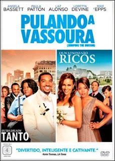 capa Download   Pulando a Vassoura   BDRip AVi Dual + RMVB Dublado