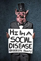 Kindle Featured Creature - Hi I'm A Social Disease by Anderson Prunty