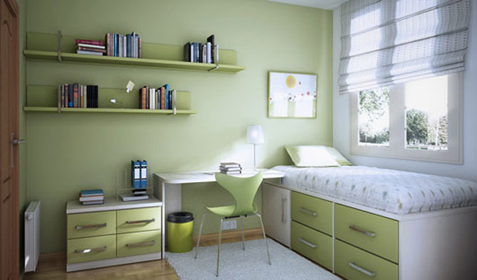 Green Girls Room Ideas